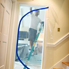 Trimaco E-Z Up® Dust Containment Door Kit Image 1